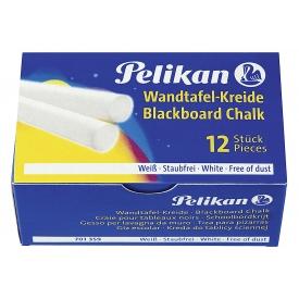 Pelikan Wandtafelkreide weiß 12er Pack