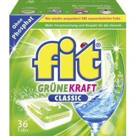 Fit Geschirrspültabs Grüne Kraft Classic