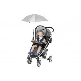 Reer Kinderwagen-Sonnenschirm ShineSafe+ grau-melange