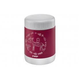 Reer Warmhaltebox ColourDesign Edelstahl 300ml Beerenrot