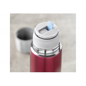 Reer Isolierflasche Colour Edelstahl 500ml Beerenrot