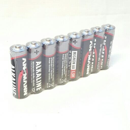 Ansmann Batterien Alkaline Mignon AA LR 6 red line