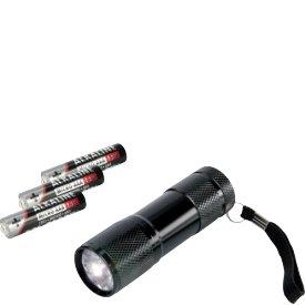 Ansmann Taschenlampe Leuchtweite 30m 3xAAA Batterien
