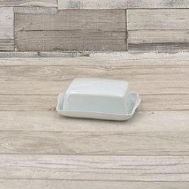 Retsch Butterdose Snack 250gr. 15,5x12,5cm weiß 2tlg