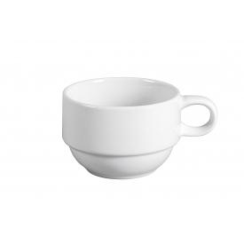Retsch Kaffeeobere Classico stapelbar 210ml weiß
