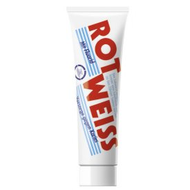 Rot-Weiss Zahncreme