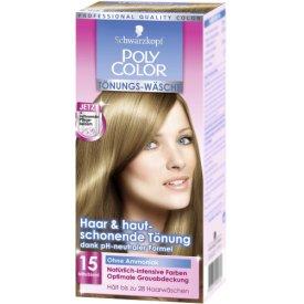 Poly Color Haartönung Color Wäsche 15 Mittelblond Stufe 3