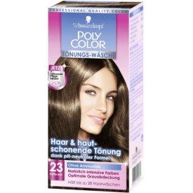 Poly Color Haartönung Tönungs-Wäsche 23 Hellbraun Stufe 3