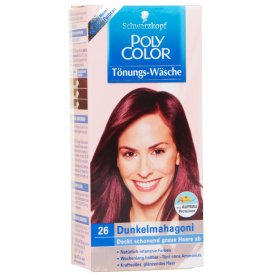 Poly Color Haartönung 26 Dunkel Mahagoni