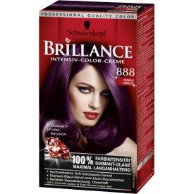 Schwarzkopf Brillance Dauerhafte Haarfarbe Intensiv-Color-Creme 888 Dunkle Kirsche