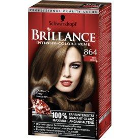Schwarzkopf Brillance Dauerhafte Haarfarbe Intensiv-Color-Creme 864 Rehbraun