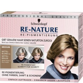 Re-nature Haarfarbe Re-Nature Pigmentierung Medium Mittelblond bis Mittelbraun