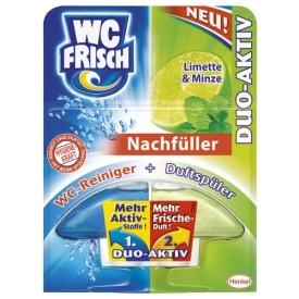 WC Frisch Bref Duo Aktiv Limette & Minze Nachfüller
