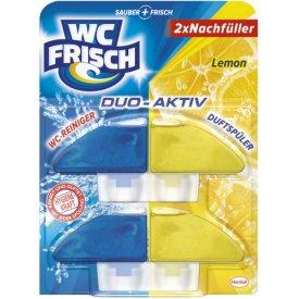 WC Frisch Duo Aktiv Nachfüller Lemon