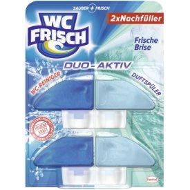 WC Frisch Duo Aktiv Frische Brise NF, 2 x 60 ml
