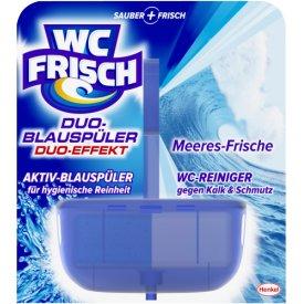 WC Frisch WC Reiniger Duo Blauspüler Meeresfrische