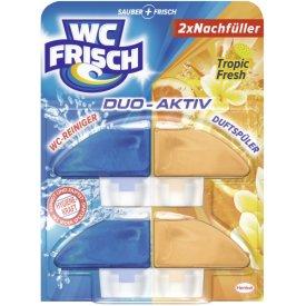 WC Frisch Duo Aktiv Nachfüller Tropic Fresh