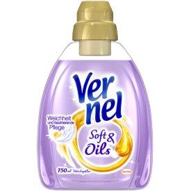 Vernel  Weichspüler Soft Oils Liebliches Magnolien-Öl