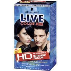Live Color XXL Dauerhafte Haarfarbe Coloration 90 Cosmic Blue