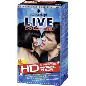 Poly Palette Dauerhafte Haarfabe Coloration Live Deep Black L99