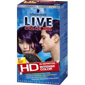 Live Color XXL Haarfarbe Coloration Mystic Violet V87