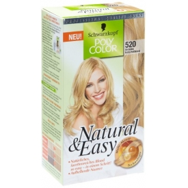 Poly Color Dauerhafte Haarfarbe Coloration Natural & Easy Orchidee Extra Hellblond
