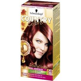 Country Color Haartönung 58 Grand Caynon Granatrot