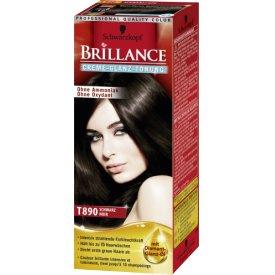 Schwarzkopf Brillance Haartönung Schwarz T890 Gel