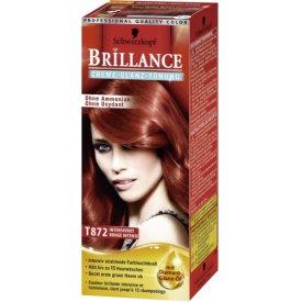 Schwarzkopf Brillance Haartönung T872 Creme Glanz Intensiv