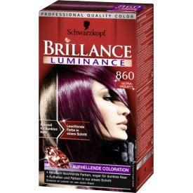 Schwarzkopf Brillance Aufheller Coloration Luminance 860 Ultraviolett
