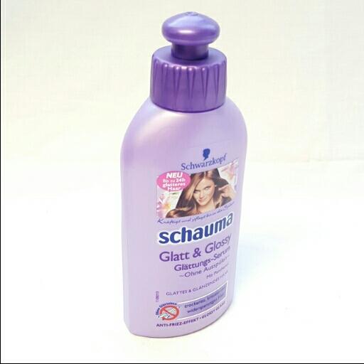 Schwarzkopf Schauma Haarpflege Glatt&Glossy Glättungs Serum