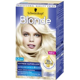 Schwarzkopf Blonde Aufheller Extrem Plus plus L1
