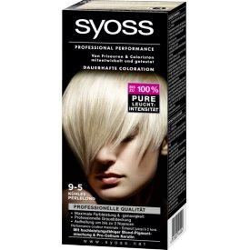 Schwarzkopf Syoss Dauerhafte Haarfabe Coloration Professional Performance 9-5 kühles Perlblond St