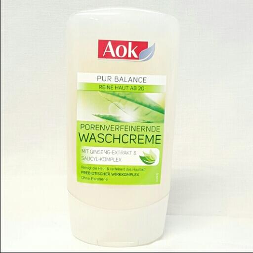 Aok Waschcreme Pure Balance Porenverfeinernde