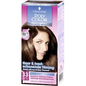 Poly Palette Haartönung Color Wäsche 33 Schokobraun Stufe 3