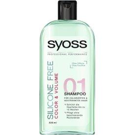 Schwarzkopf Syoss Shampoo Professional Performance Silicone Free Color und Volume