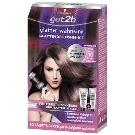 Got2b Haarpflege Glatter wahnsinn Glättungs-Kit Föhn-Kit !!AUSVERKAUF!!