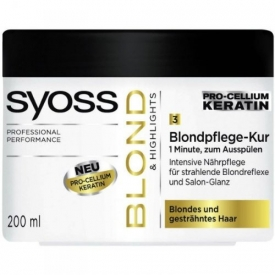 Schwarzkopf Syoss Haarkur Blondpflege 1 min Blond & Highlights