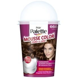 Poly Palette Dauerhafte Haarfarbe Schaum-Coloration Mousse Color 668 Haselnuss