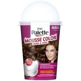 Poly Palette Dauerhafte Haarfarbe Schaum-Coloration Mousse Color 668 Haselnuss