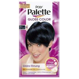 Poly Palette Haartönung Gloss Color Glanz Sachet 20 Blauschwarz Stufe 1