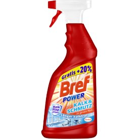 Bref Power Reiniger Spray Kalk und Schmutz