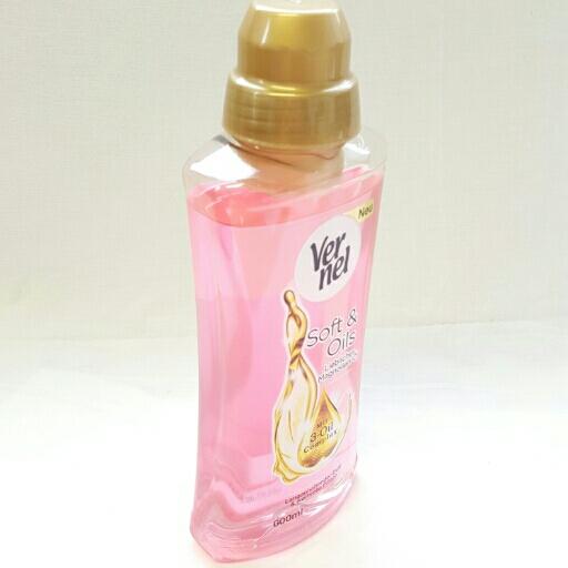 Vernel Weichspüler Soft & Oils Pink