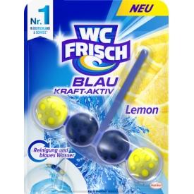 WC Frisch WC Reiniger Kraft-Aktiv Blauspüler Lemon