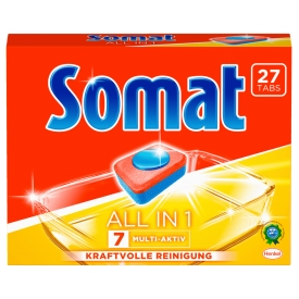 Somat All in 1 Geschirrspültabs: 7 Multi-Aktiv