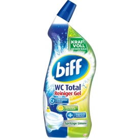 Biff WC Total Reiniger Gel spritzige Limone
