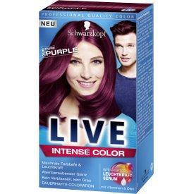 Live Color XXL Dauerhafte Haarfarbe Coloration Pure Purple 86