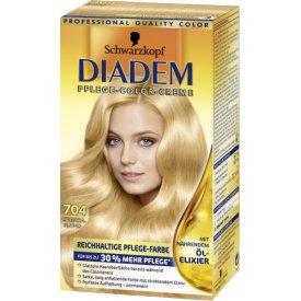 Schwarzkopf Diadem Dauerhafte Haarfarbe Seiden-Color-Creme 704 Saharablond
