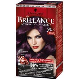 Schwarzkopf Brillance Dauerhafte Haarfarbe Intensive Color Creme Absolut Violett 903