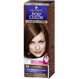 Poly Color Creme Haarfarbe Haselnuss 38